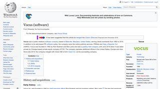 Vocus (software) - Wikipedia