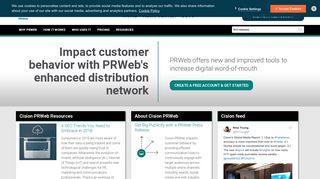 Why PRWeb - Online Press Release Distribution Service