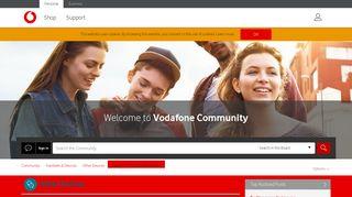 Loggin in to VodafoneMobile.wifi? - Vodafone Community