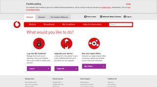 Login - Vodafone