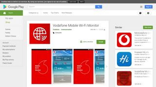 Vodafone Mobile Wi-Fi Monitor - Apps on Google Play