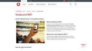 Vodacom WiFi | Vodacom