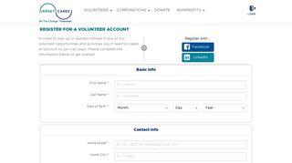Jersey Cares   Volunteer Sign up