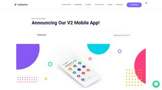Announcing Our New V2 Mobile App! | Volusion