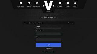 Client Area - Voodoo Servers