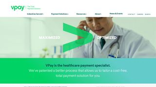 Healthcare Claim Payment Solution | VPay
