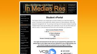 Student vPortal - Media Center