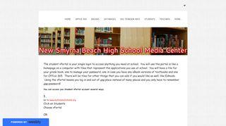 Student V Portal - Media Center