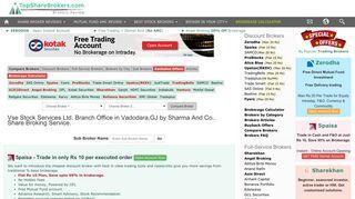 Vse Stock Services Ltd. Branch Office in Vadodara,GJ by Sharma And ...