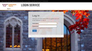 Login | Virginia Tech