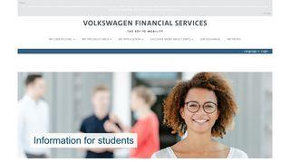 students - Karriere bei der Volkswagen Financial Services