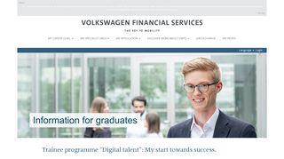 Trainees - Karriere bei der Volkswagen Financial Services