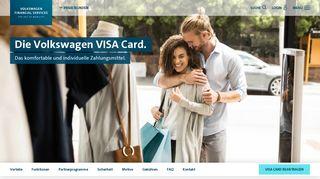 Volkswagen VISA Card: weltweit bargeldlos zahlen | Volkswagen Bank