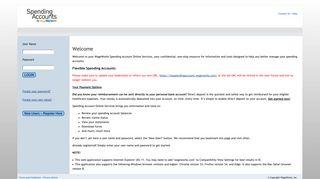 Login - Spending Accounts - WageWorks