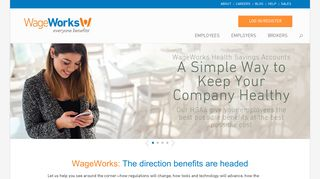 WageWorks Programs for HSA, FSA, COBRA & Lifestyle Benefits in ...