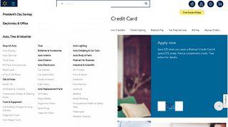 Walmart Credit Card - Walmart.com