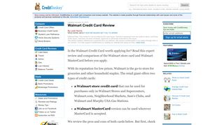 Walmart Credit Card Review: Is It Good? - CreditDonkey