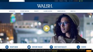 Walsh College: Walsh - Graduate & Undergraduate Business Degrees