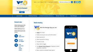 Mobile Banking - Wanigas Credit Union