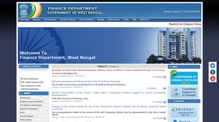 Finance Department, Government of West Bengal