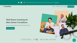 WealthBar - Online Wealth Management
