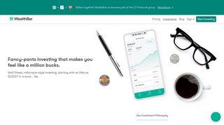 Investments - WealthBar