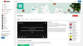 WealthBar - YouTube