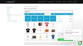 Web POS - Airsquare