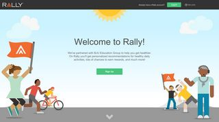 registration on the Rally mobile app? - Welcome to Rally!