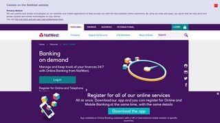 Online Banking | NatWest