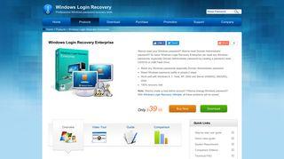 Windows Login Recovery Enterprise