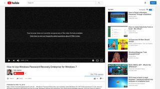 How to Use Windows Password Recovery Enterprise for Windows 7 ...