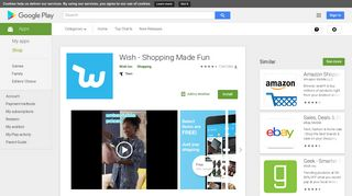 Wish - Shopping Made Fun - Apps on Google Play