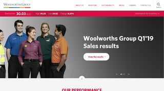 Woolworths Group: Quality Brands and Trusted Retailing