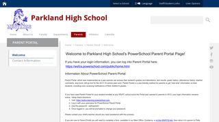 Parent Portal / Welcome - Winston-Salem/Forsyth County Schools