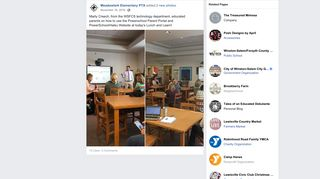 Marty Creech, from the WSFCS technology... - Meadowlark ... - Facebook