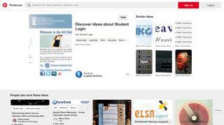 AIU Student Login - Pinterest