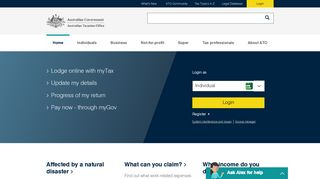 Home page | Australian Taxation Office