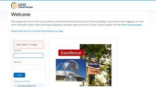 Login - Central Carolina Technical College