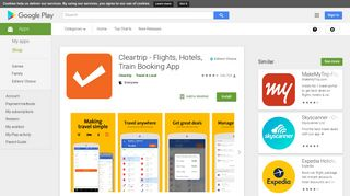 Cleartrip - Flights, Hotels & Activities App - Apps on Google Play