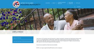 Employment - District of Columbia Housing Authority - DC Housing ...