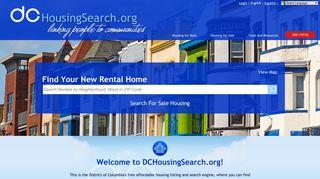 DCHousingSearch.org | Washington, DC Apartments | Washington ...