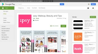 ipsy: Makeup, Beauty, and Tips - Apps on Google Play