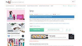 Ipsy | MSA