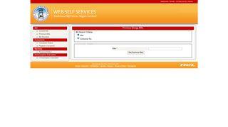 Current Bill - JBVNL - Web Self Service