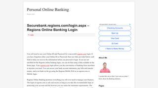 https securebank regions com login aspx