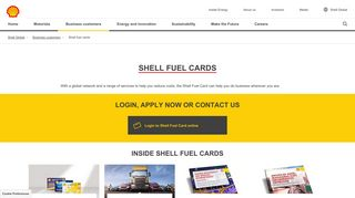 Shell fuel cards   Shell Global