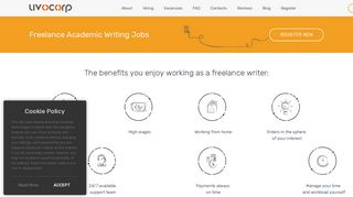 Freelance Academic Writing Jobs - UvoCorp.com