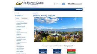 MyStFX | St. Francis Xavier University