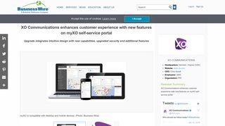 XO Communications enhances customer experience with new ...